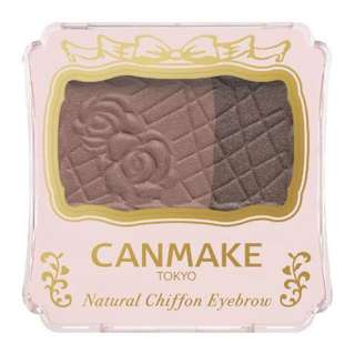 CANMAKE Natural Chiffon Eyebrow Powder [02]