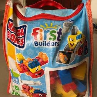 Megabloks for kids 1 to 5 years old