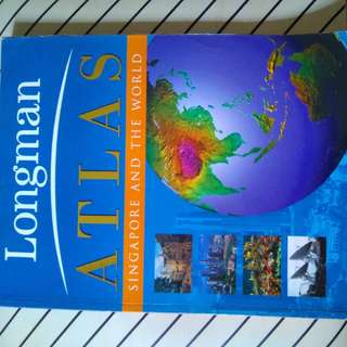 Longman Atlas Singapore and the World.