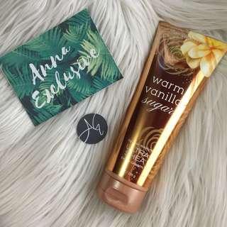 Authentic Bath & Body Works WARM VANILLA SUGAR Body Cream