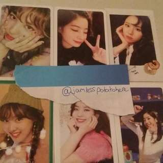 Wtt twice photocards