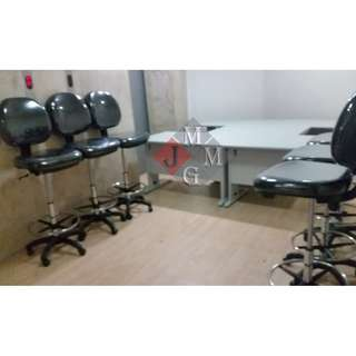 __Teller Chairs (with foot ring) Office Furniture *