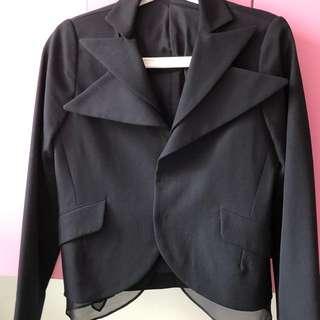 Yohji Yamamoto women's black jacket
