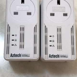 Aztech Homeplug 500Mbps