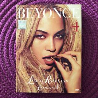 Beyonce - Live At Roseland/Elements of 4 DVD