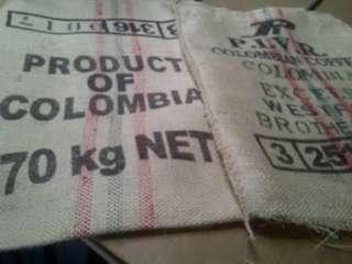 Used Coffee Bags