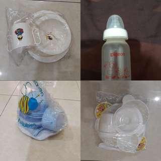 alldellshop obral perlengkapan makan bayi dan botol susu