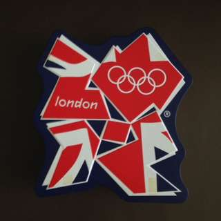 Olympiana: M&S London 2012 Logo Tin