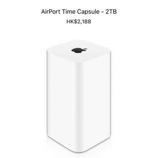 Apple airport time capsule 2T