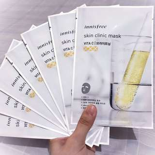 Innisfree Skin Clinic Mask (Vitamin C)