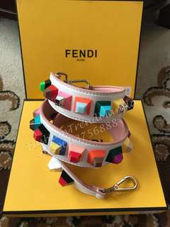 Fendi You Studded Bag Strap