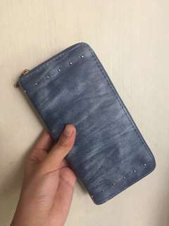 Bench Wallet Leather (Blue)