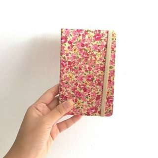 Flora-Printed Small Lined-Notebook
