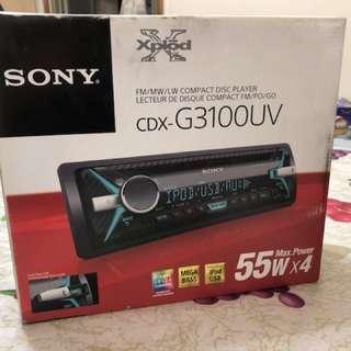 Sony CDX-G3100UV 車機