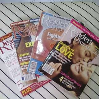 Readers Digest Assorted Collection