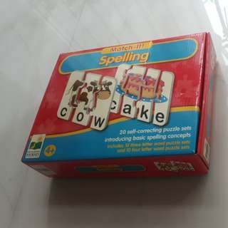 Educational Puzzle-matching Game