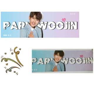 wanna one park woojin banner