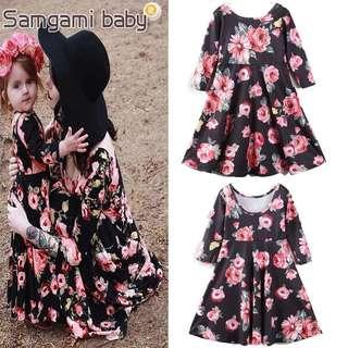 Daughter & Mother Floral Dress