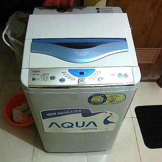 Mesin cuci Sanyo Aqua AQW-85SB 1 tabung