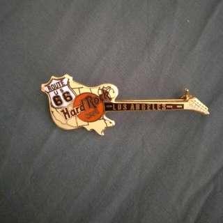 Hard Rock Cafe Guitar Pin