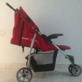 Baby Stroller Sweet Cherry