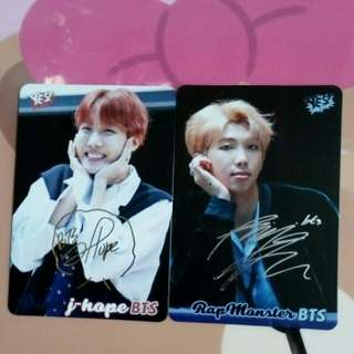yes card BTS