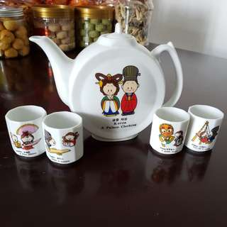 Korea teapot set