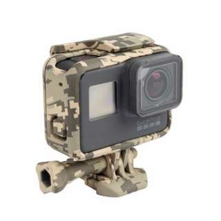 Cool Camouflage Frame Protective Housing Case Shell for Gopro hero 5
