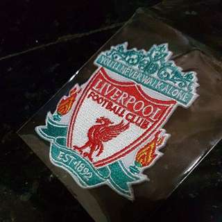 Iron On Patch Badge - Liverpool Football Club