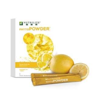 檸檬味植物營養果汁粉