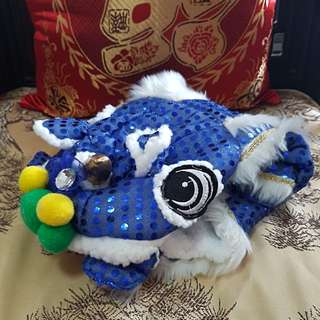 Lion Dance Costume for Dogs