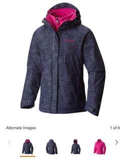 美國代購Clumbia Omni-Heat®️童裝三合一外套