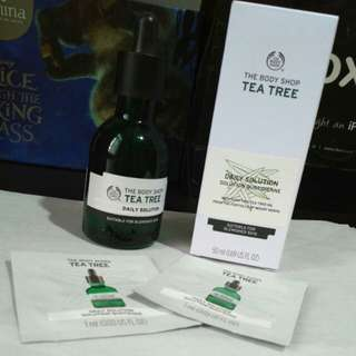 the body shop tea tree daily solution free sample