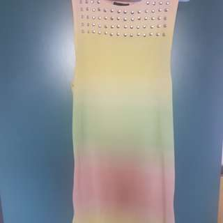 Colourful Cotton dress from top shop