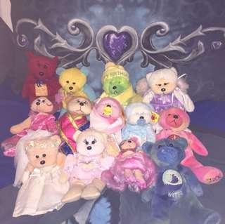 Beanie kids/ other bears