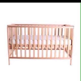 Super Sale! Bundle Wooden Crib and Stroller