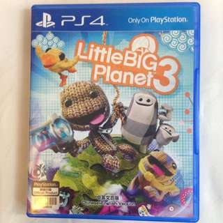 Little big planet 3 for the PS4