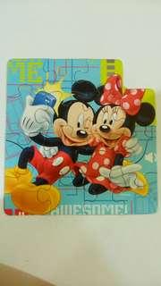 Mickey and minnie 15 pcs big