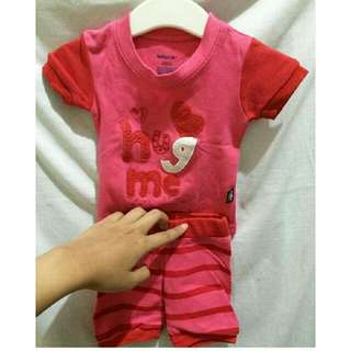 Set Baby Gap Pink