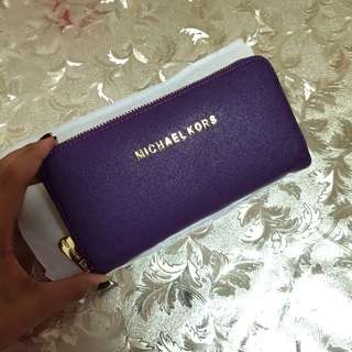 Instock**2 pieces MK inspired wallet