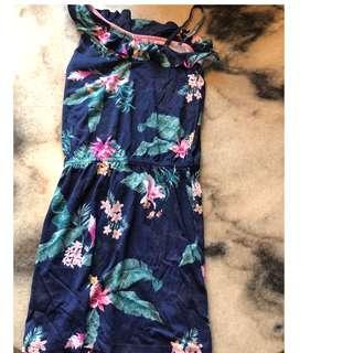 Floral MinI Gown
