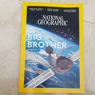 National Geographic The New Big Brother