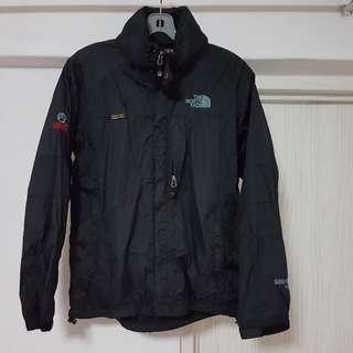 USED FAKE north face black jacket
