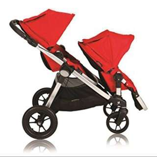 ♨️CHEAPEST must GO! City Select Double Twin Stroller♨️