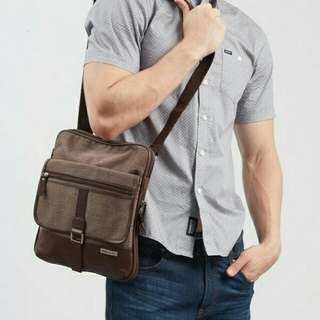 Men Detroit Sling Brown