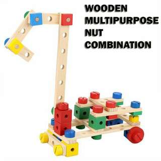 WOODEN MULTI-PURPOSE NUT COMBINATION