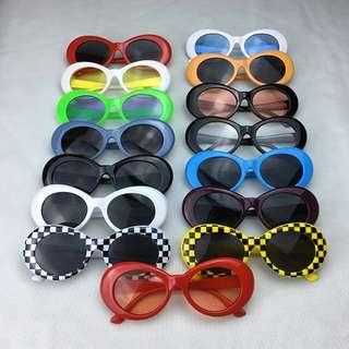 Clout goggles/Kurt cobain shades