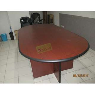 L240C CONFERENCE TABLE CHERRY COLOR 8-10 SEATER--KHOMI