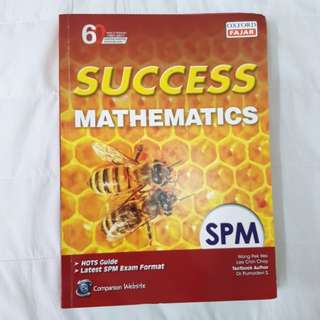 Success Mathematics Form 5 SPM Reference Book