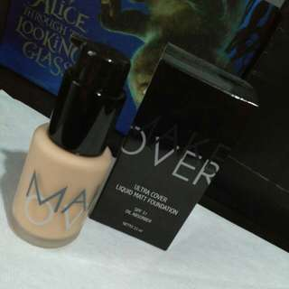 Free ongkir Make over ultra cover liquid matt foundation nude silk 03